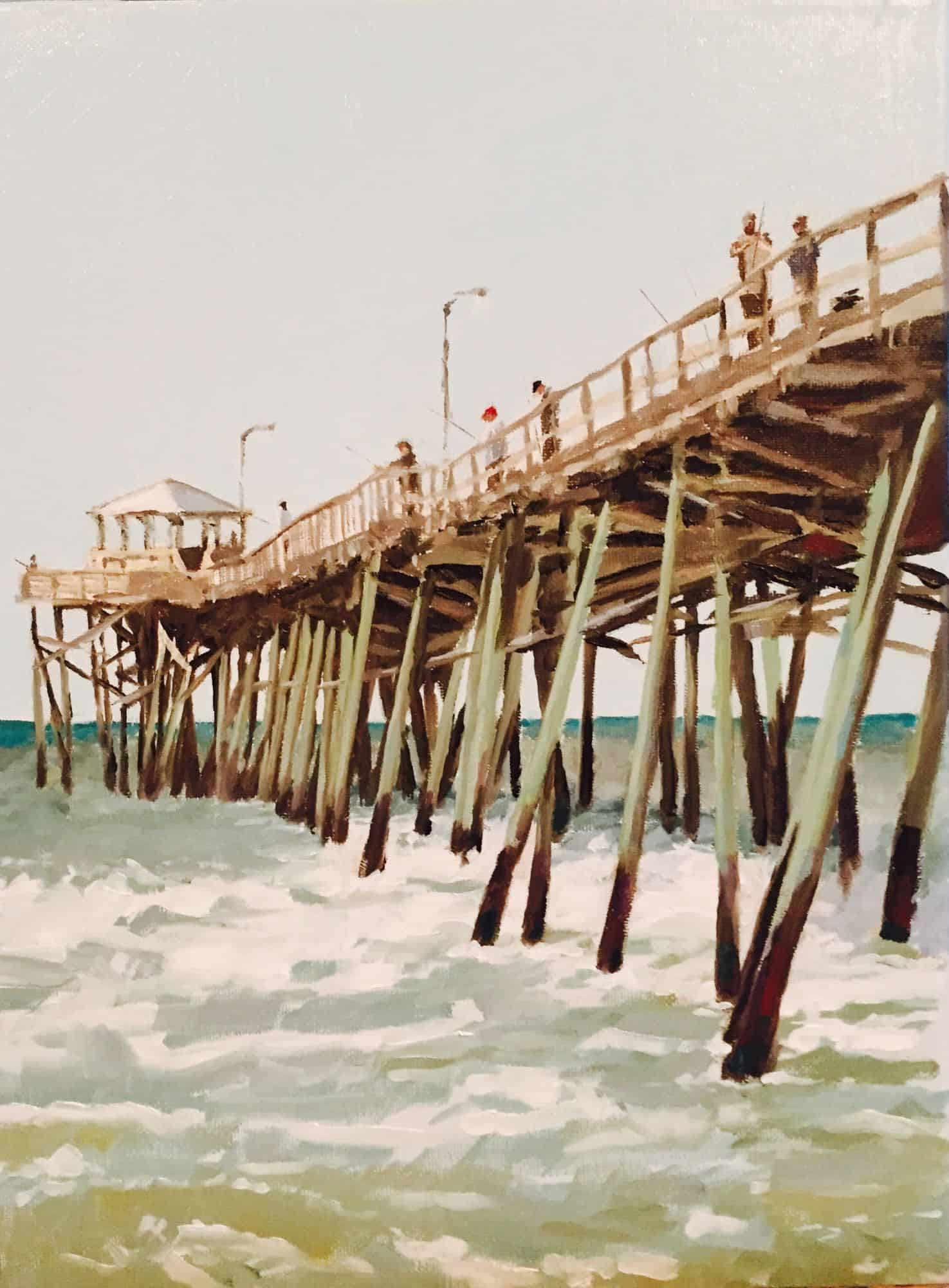 Oceana Pier_The Last One_16x20-avail