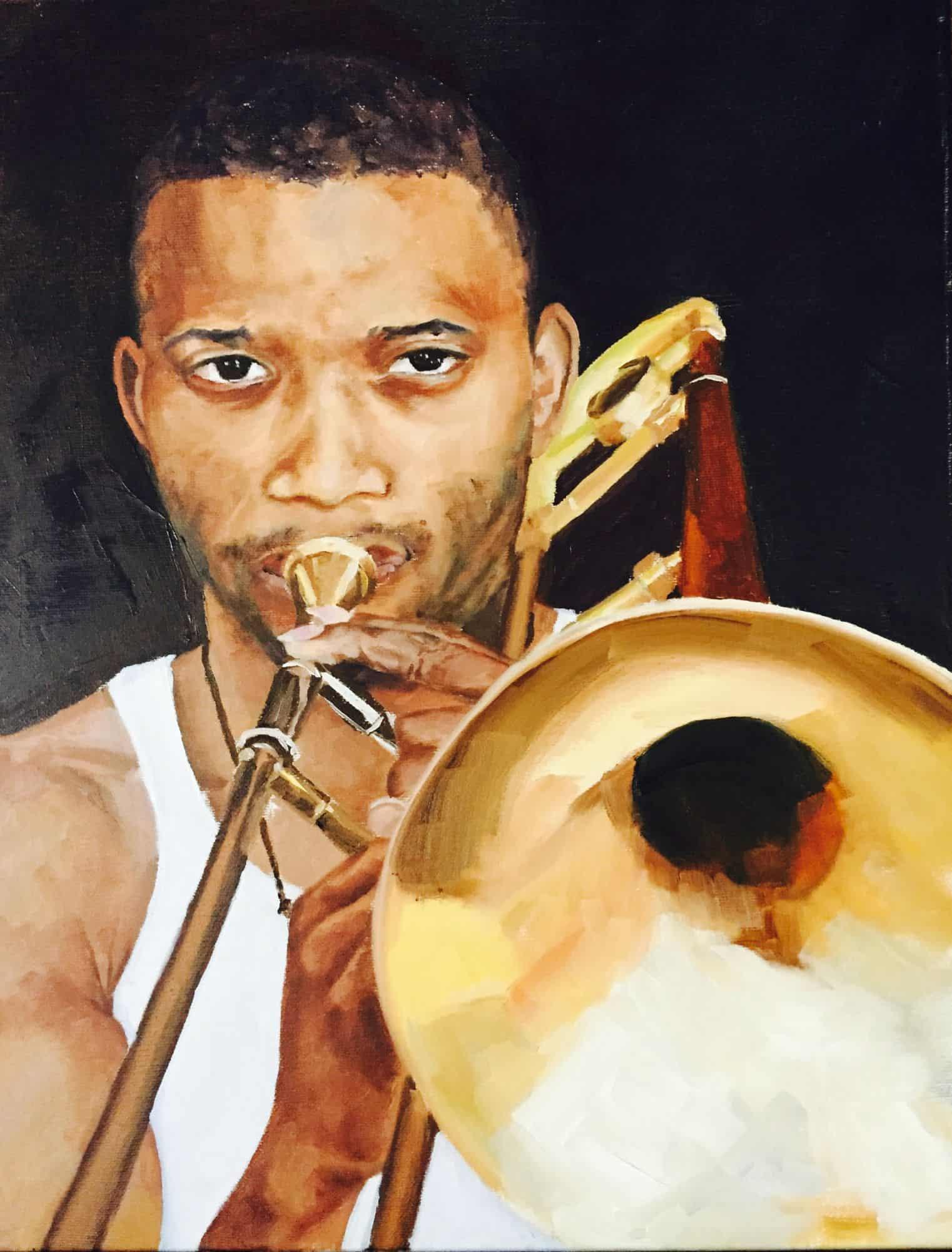 Trombone Shorty16x20
